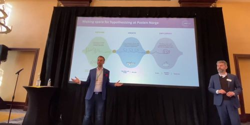 Norway Post Helix Innovation Model Explained at MIT 2019